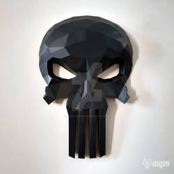 The Punisher papercraft