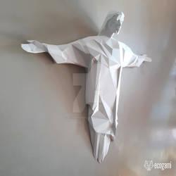 Christ the Redeemer papercraft