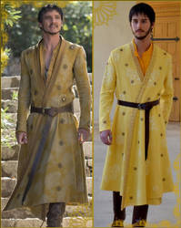 Costume Oberyn origine-cosplay by AtelierSeekat