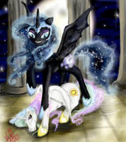 Triumph of the Night by vixetra