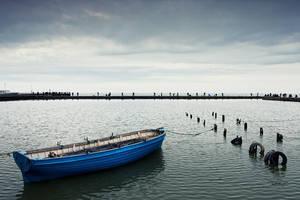 The boat by ArtemGukasov