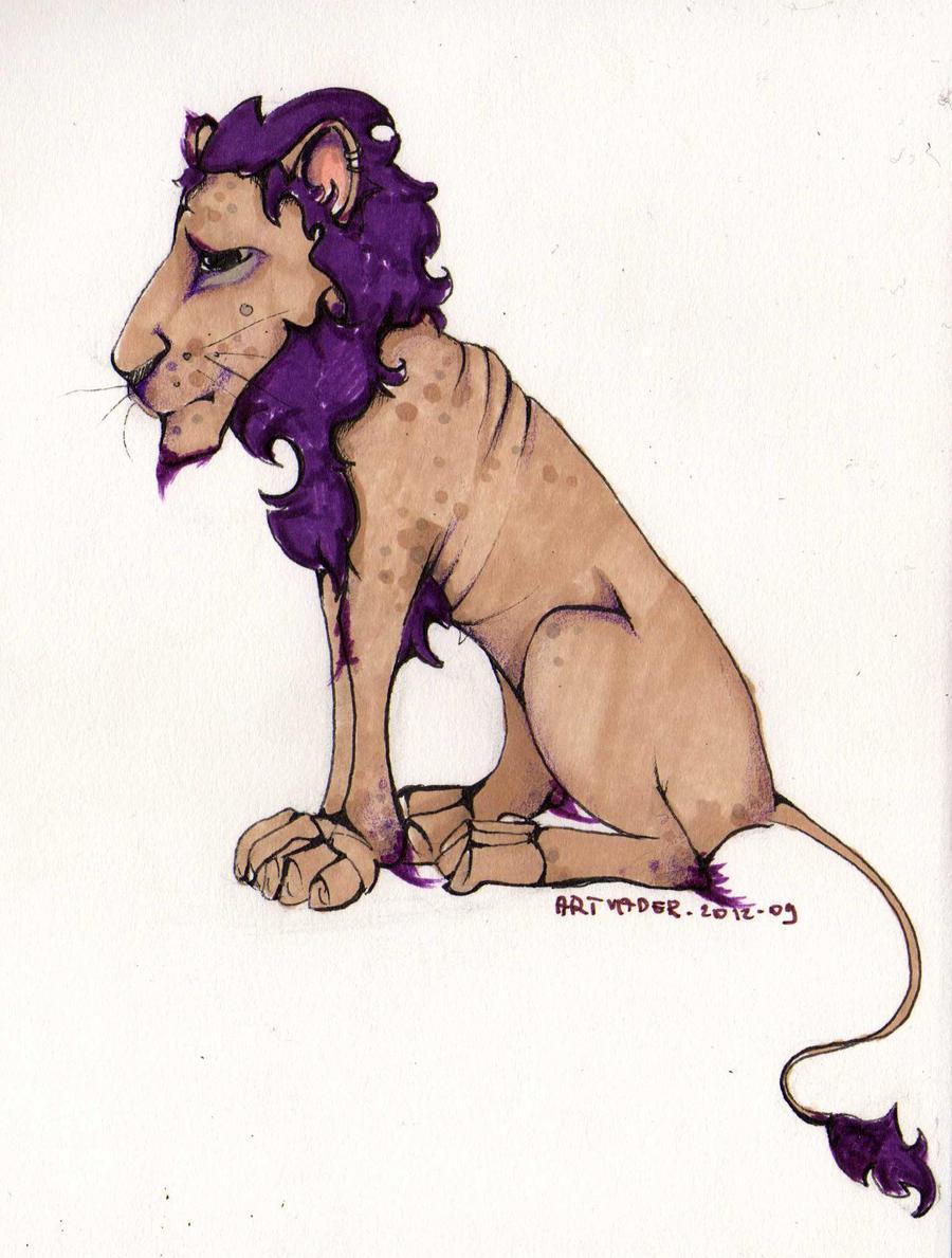Im a lion by madamsaske