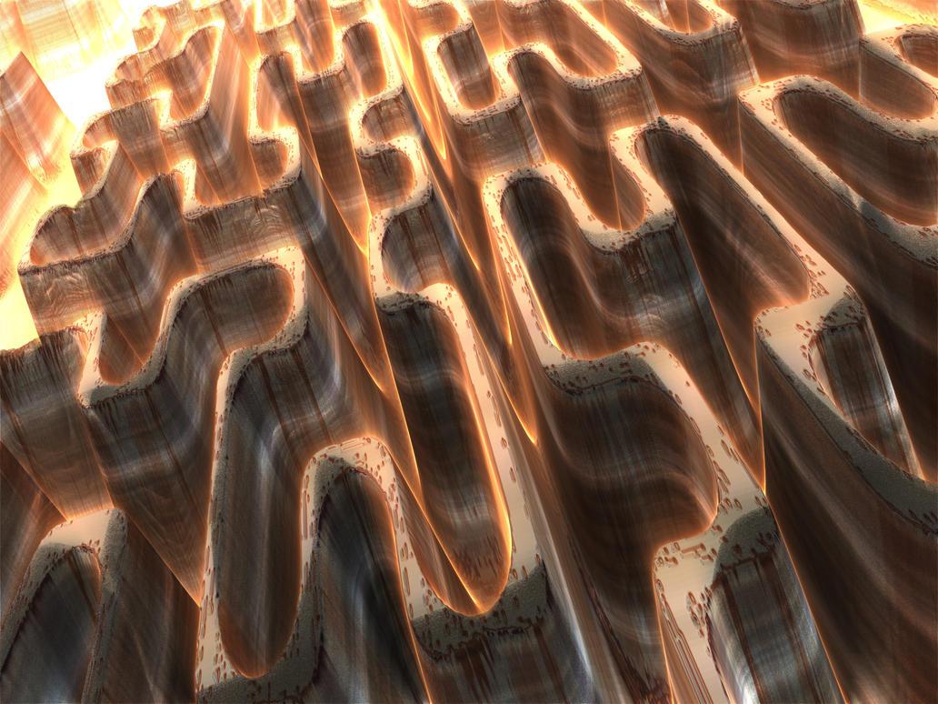 Maze Canyon by franki786