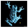 Fringe Glyph: Frog by lzsays