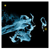 Fringe Glyph: Smoke by lzsays