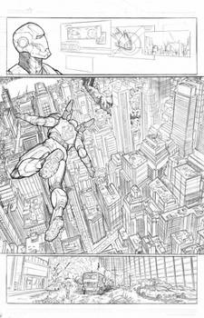 Ironman Vs Optimus Prime page 1