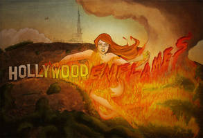 Hollywoodenflames by nongravity