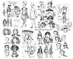 Hats Sketches