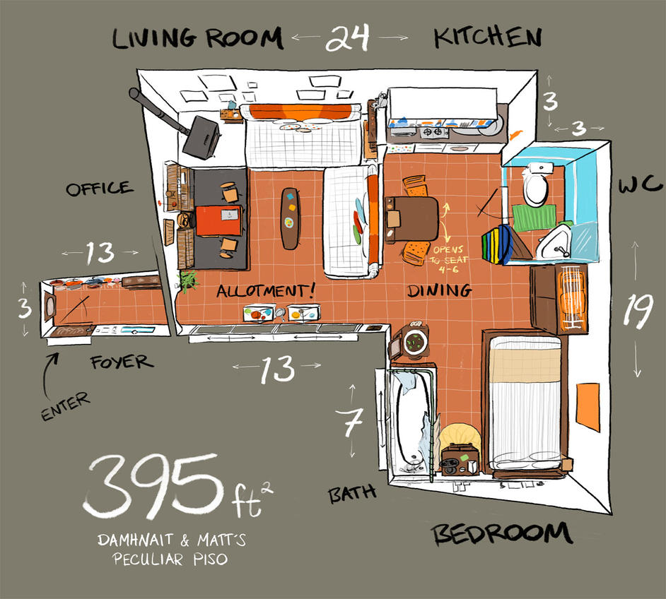 Apartment Therapy Small Cool 2013 Floorplan by nongravity ...
