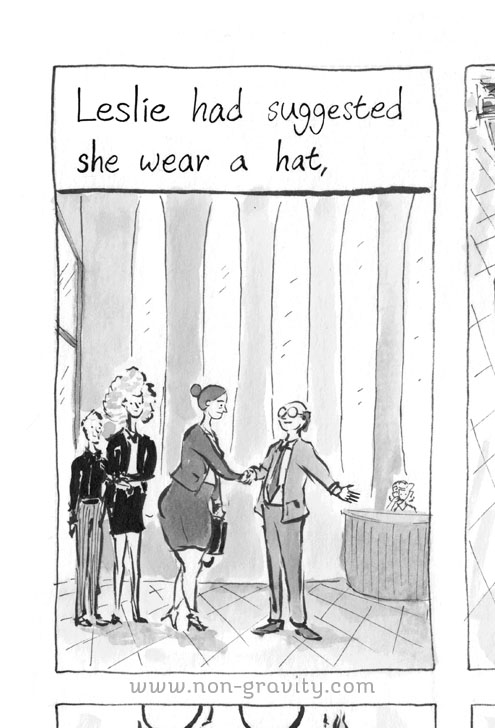 She Always Looked Good in Hats, page 42 preview