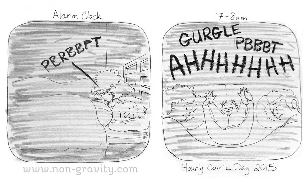 Hourly Comic Day 2015 by nongravity