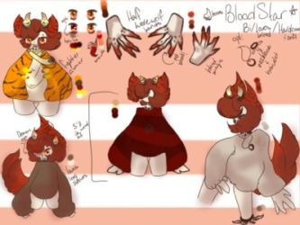 Bloodstar (Adoptable) [SOLD] by PuppyistheFire