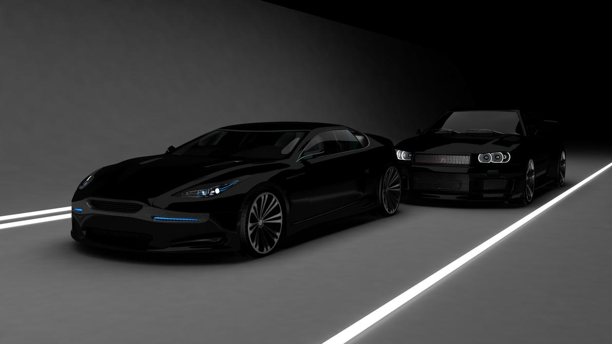 concepts car and skyline - photo #1