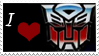 Autobot lover-stamp by SoBlank