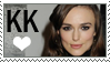 Keira Knightley Stamp by SoBlank