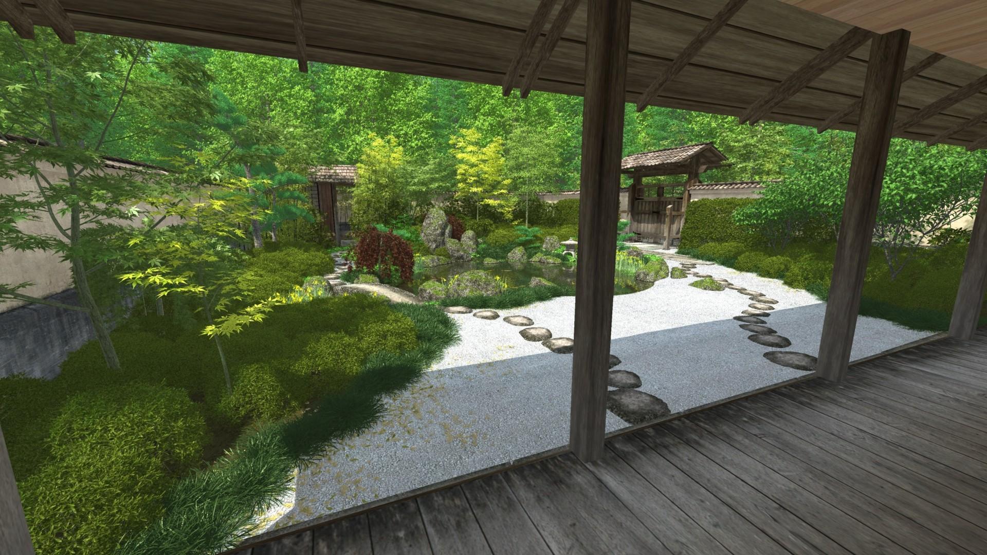 Man Caves Japanese Tea Garden : Image gallery japanese tea garden wallpaper