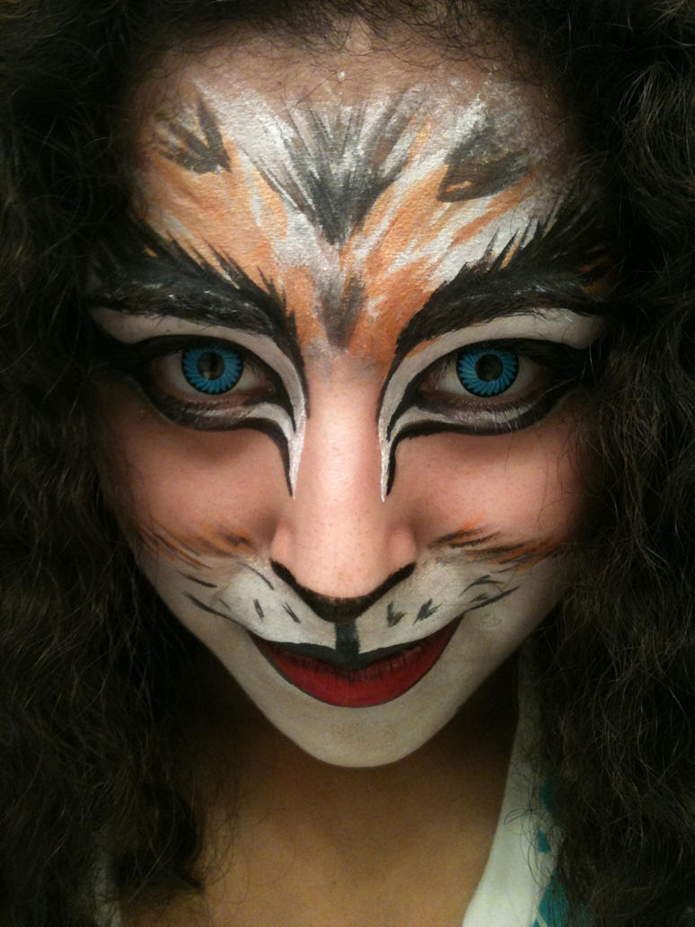 cats inspired makeup by deadpool24 on deviantart. Black Bedroom Furniture Sets. Home Design Ideas