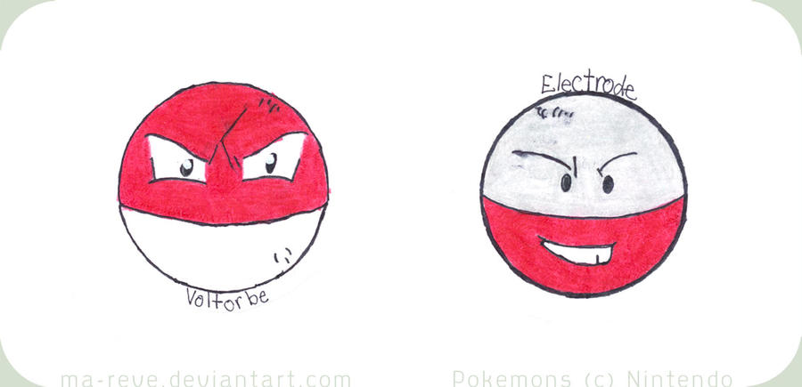 electrode and voltorb - photo #41