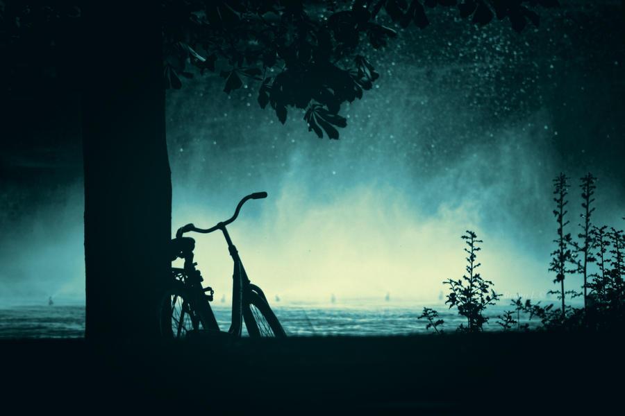 Bikes in Space by darkdex52 on DeviantArt