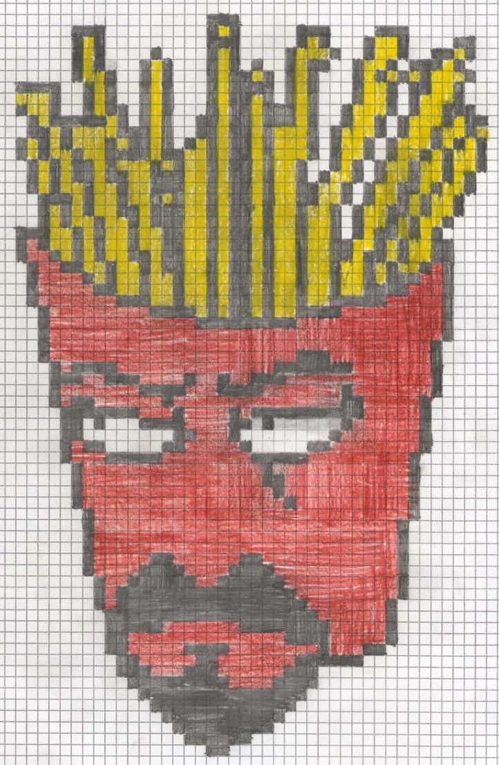 The Fry Man by artdragon1
