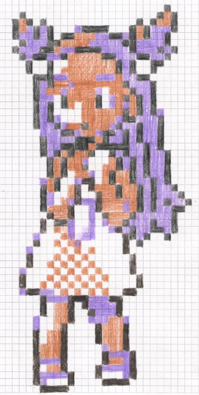 The Steel-Clad Defense Girl by artdragon1