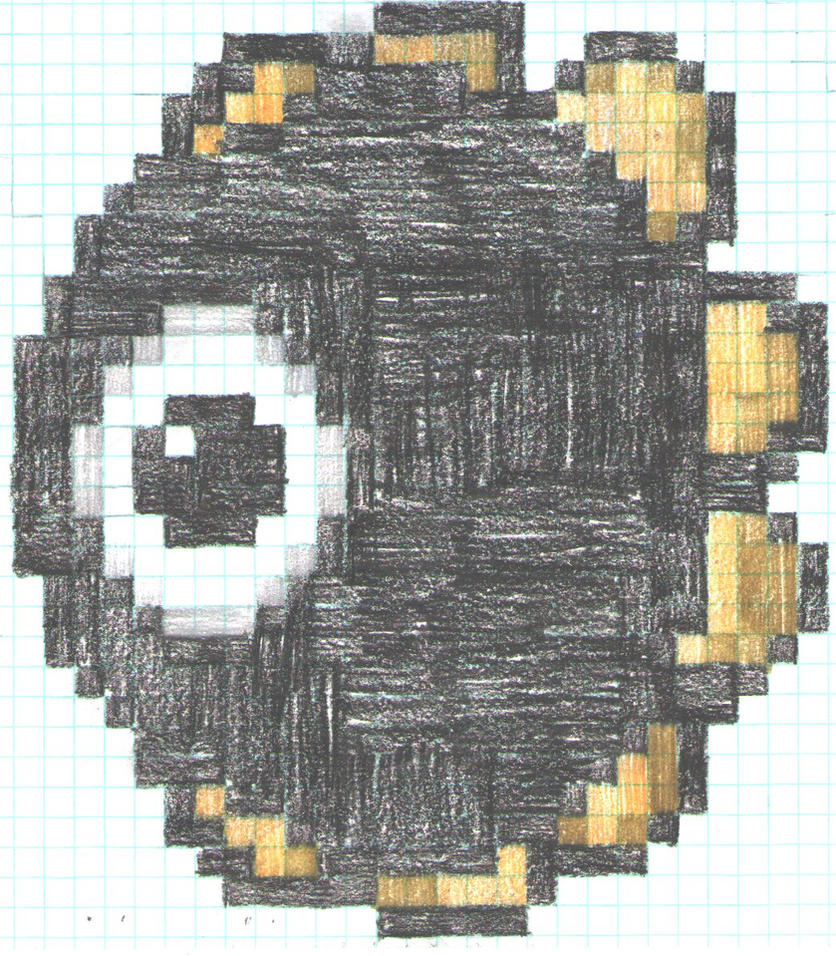 The evil blob by artdragon1