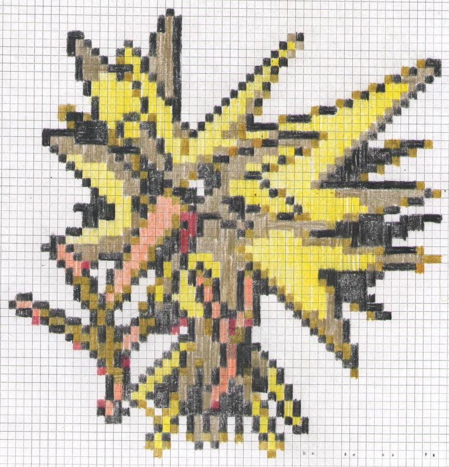 RB - Electric Pokemon by artdragon1