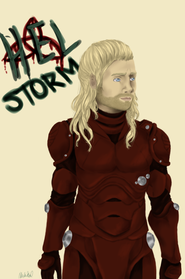 Jaeger Pilot Thor by ponypalsandhorsies