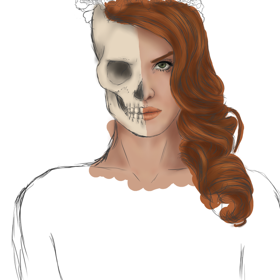 Lana Del Skull by ponypalsandhorsies