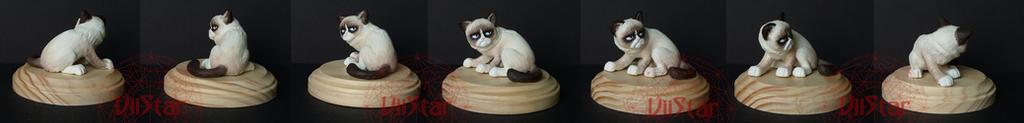 Tartar Sauce - Tard the Grumpy Cat OOAK by VIIStar