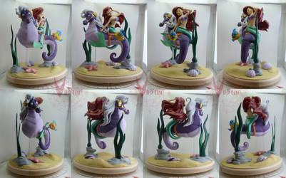 Ariel and Stormy sculpt final turn by VIIStar