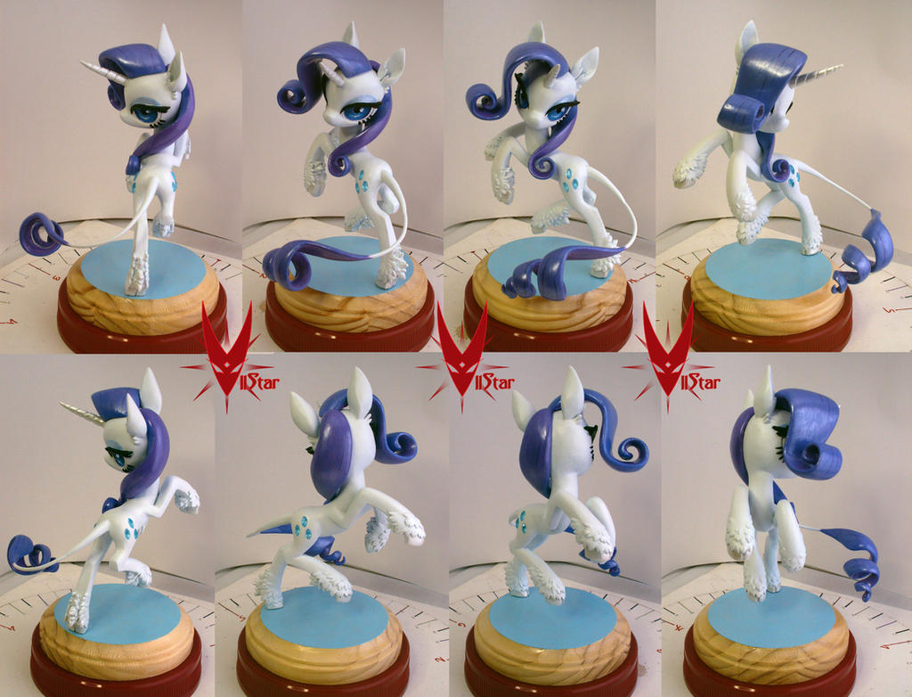 how to make twilight sparkle out of clay