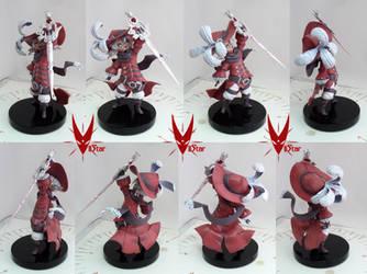 Twig Mooglekin as Red Mage by VIIStar