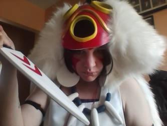 Princess Mononoke: San by BluOokami