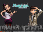 Audition Redbana Wallpaper1 by audiartists