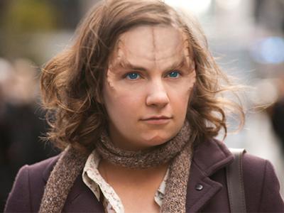Lena Dunham as a Denobulan by thatgeekchick