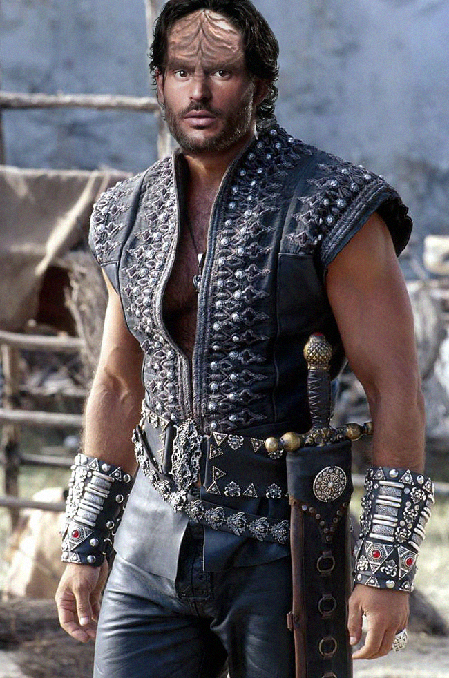 Joe Manganiello as a Klingon by thatgeekchick