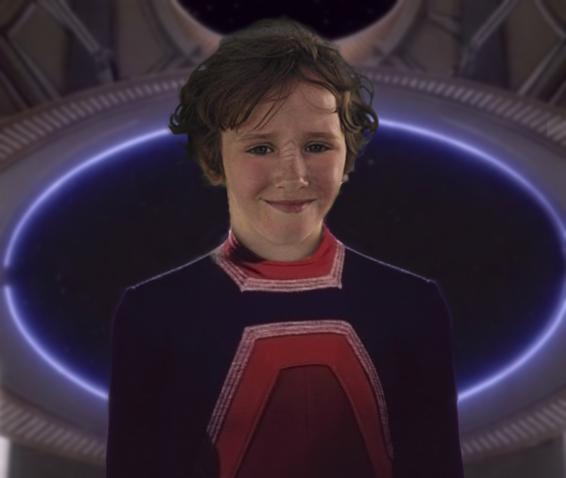 Isaac Hempstead-Wright as a Bajoran Child by thatgeekchick