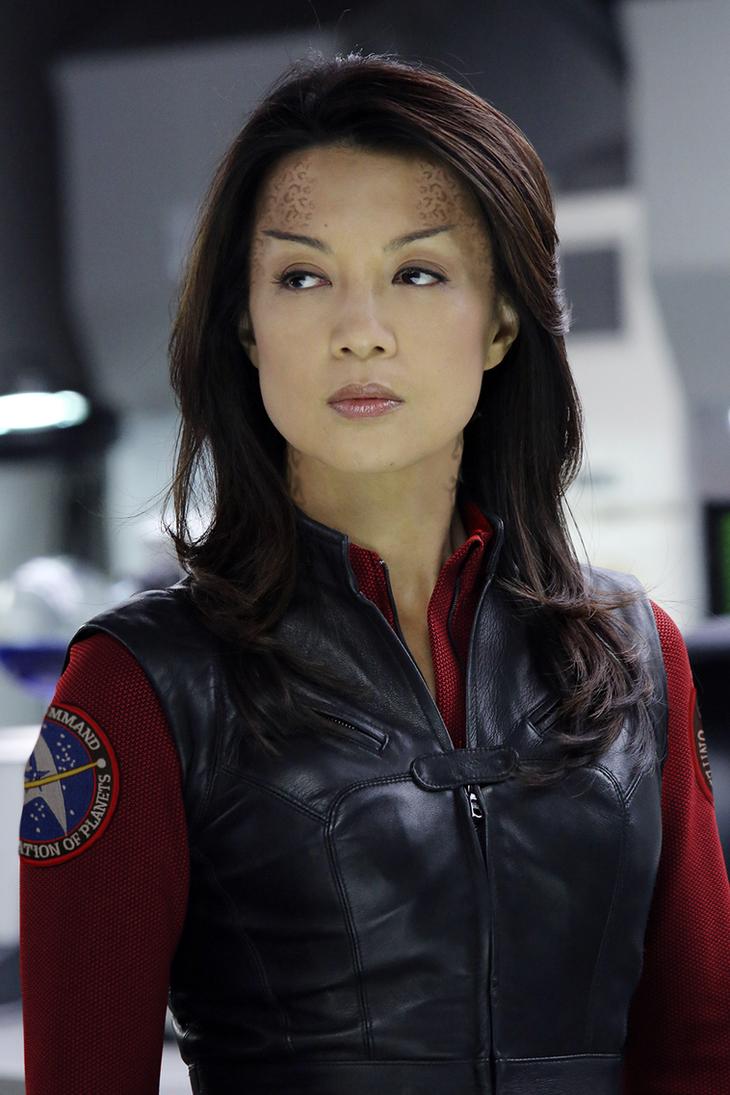 SHIELD/Star Trek - Vulcan/Trill Hybrid Ming-Na Wen by thatgeekchick