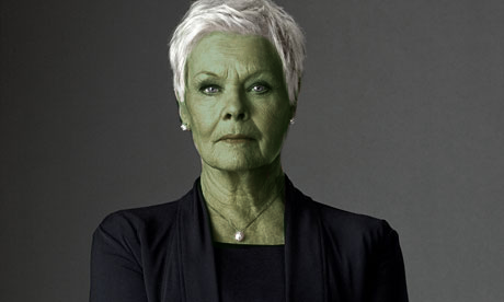 Judi Dench as a half-Orion. by thatgeekchick