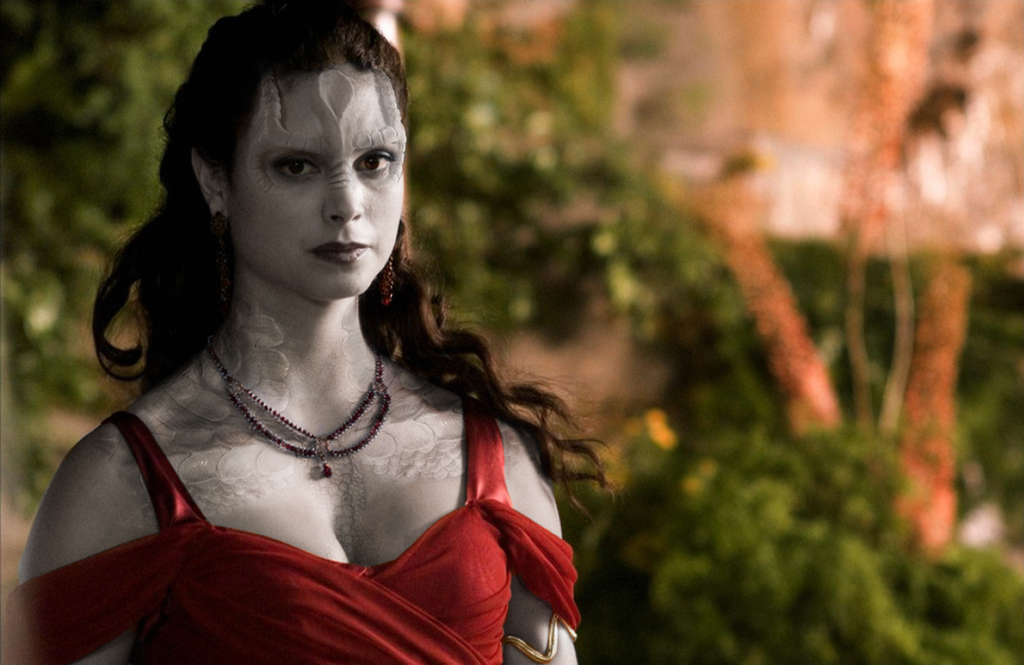 Morena Baccarin as a Bajoran/Cardassian Hybrid by thatgeekchick