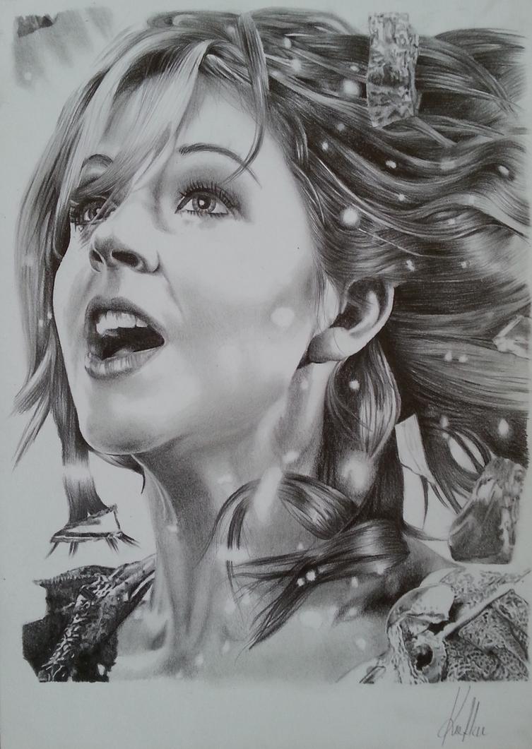 Lindsey Stirling - Shatter Me by Azargo93