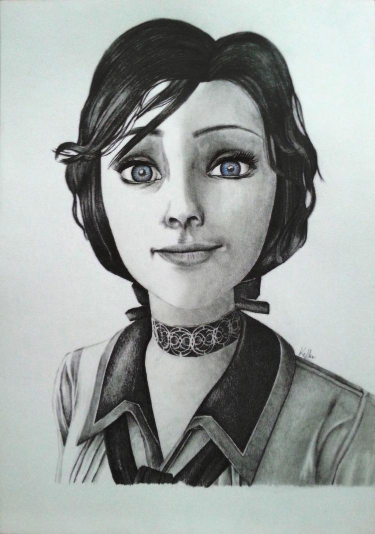 Resultado de imagen de elizabeth bioshock infinite drawing