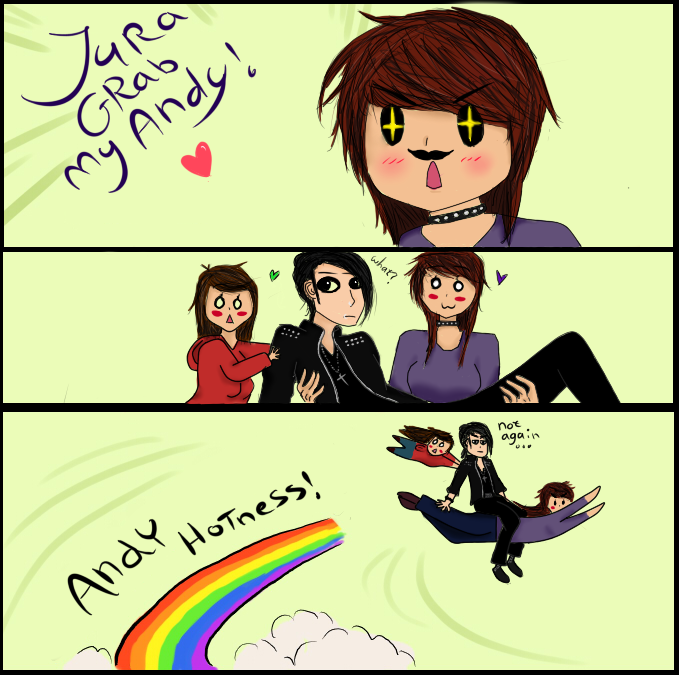 Grab My Andy! by NayumiNeko