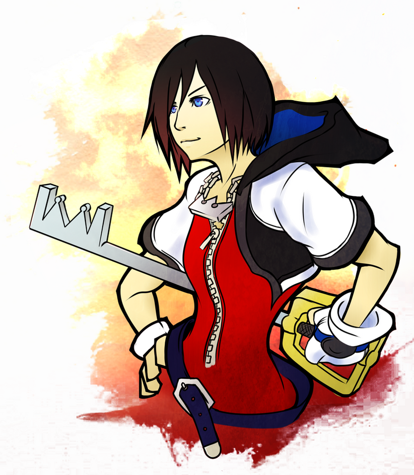 Xion as Sora? by Outering