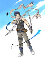 Joshua Bright from Trails in the Sky by Outering