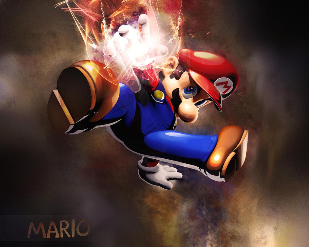 Super Mario Wallpaper by Arsenovicius