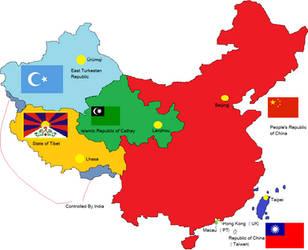 Balkanized China by dragonvanguard
