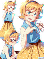 Lotte! uwu by Danfer3