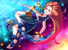 Zoe -  League of Legends (fan art)
